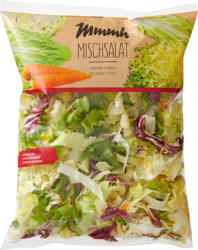 Insalata mista Mmmh , pronta per il consumo, provenienza indicata sull'imballaggio, 320 g