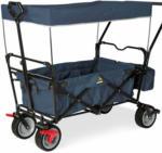 BayWa Bau- & Gartenmärkte Klappbollerwagen Paxi dlx Comfort mit Bremse, marineblau Marineblau