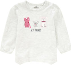Baby Langarmshirt mit Zipfelsaum (Nur online)