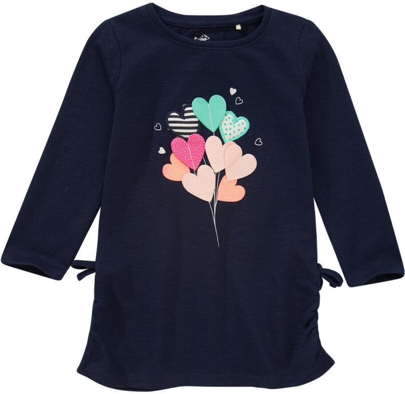 Mädchen Langarmshirt mit bunter Applikation (Nur online)