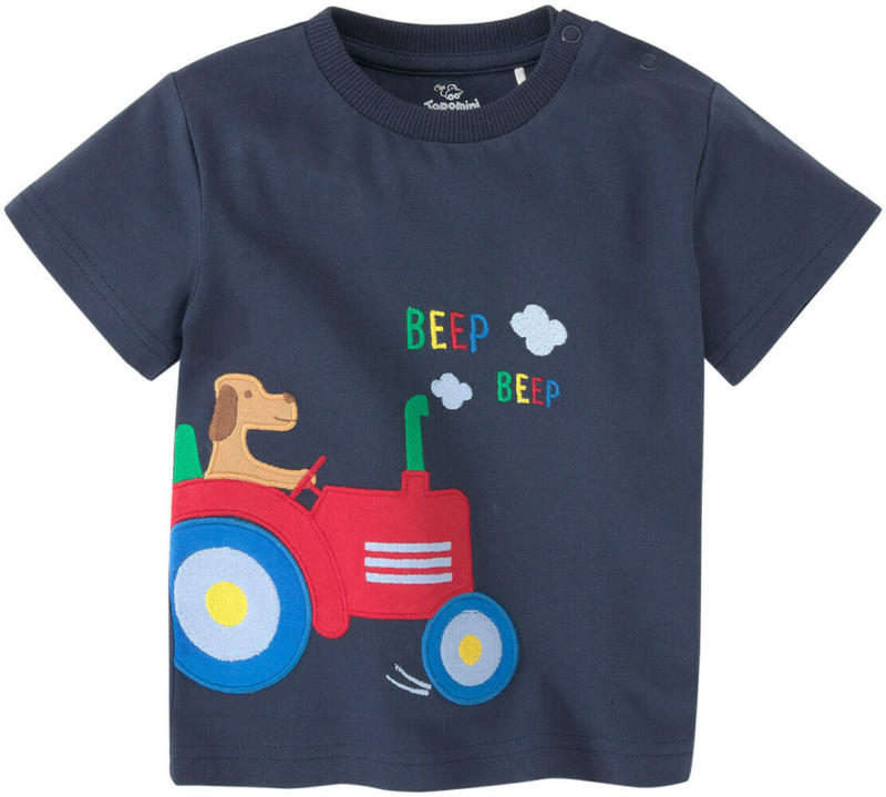 Baby T-Shirt mit Trecker-Applikation (Nur online)