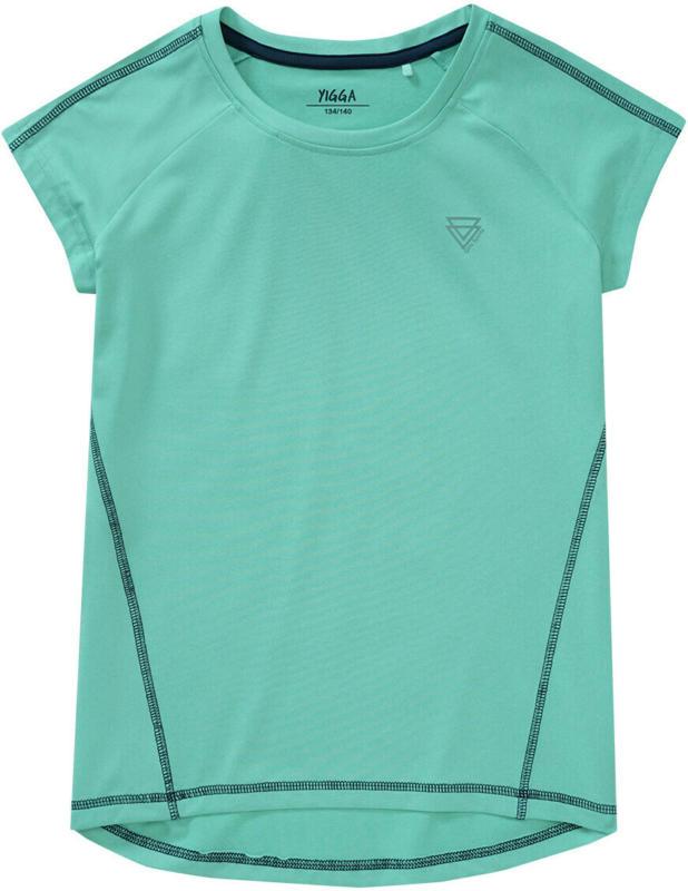 Mädchen Sport-T-Shirt mit Ziernähten (Nur online)