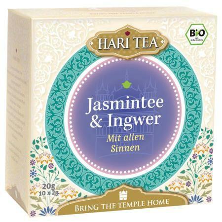 Jasmintee & Ingwer - Mit allen Sinnen 10 Btl.