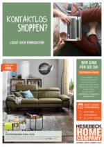 Kontaktlos Shoppen bei Möbelhaus Hesebeck