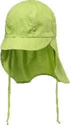 ALANA Kinder Schildmütze, Gr. 48/49, in Bio-Baumwolle, grün