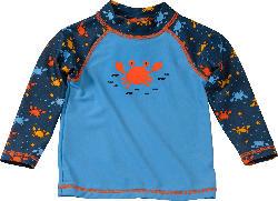 PUSBLU Baby UV-Shirt, Gr. 80, blau