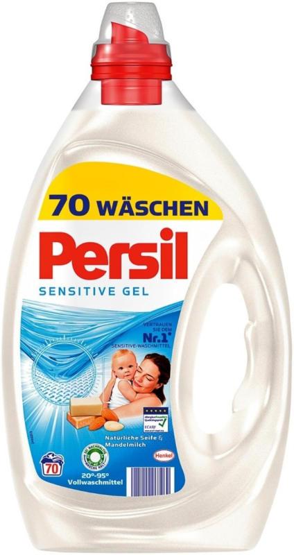 Persil Gel Sensitive 70 WG, 3.5 Liter -