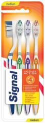 Signal Zahnbürsten Interdental Antiplaque 4er-Pack -