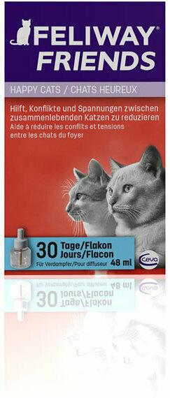 Ceva Cat Feliway Friends 30Tage Nachfüllflakon48ml