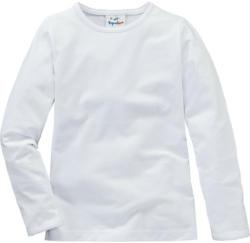 Mädchen Langarmshirt in Weiß (Nur online)