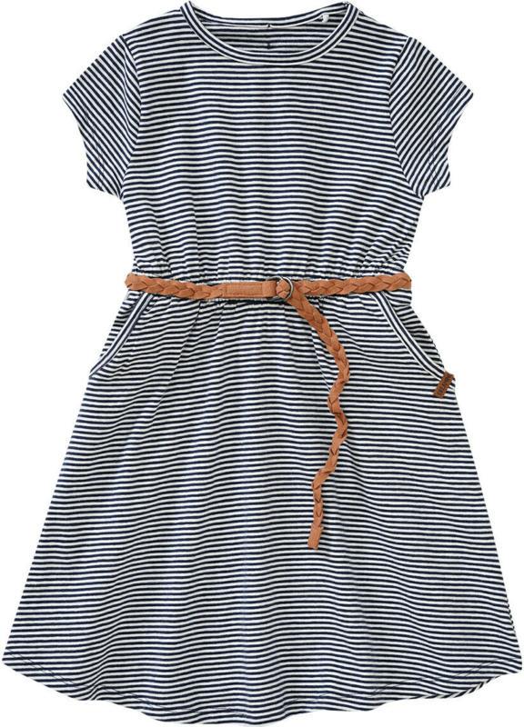 Mädchen Kleid mit Flechtgürtel (Nur online)