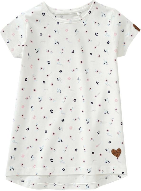 Mädchen T-Shirt mit Blümchen-Allover (Nur online)