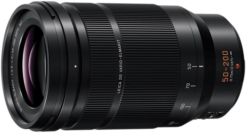 Objektiv Leica DG Vario Elmarit 50-200mm 2.8-4.0 ASPH OIS (H-ES50200), schwarz