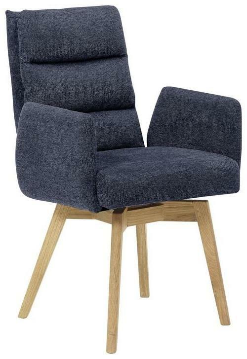 Stuhl in Nachtblau 'Kampala'