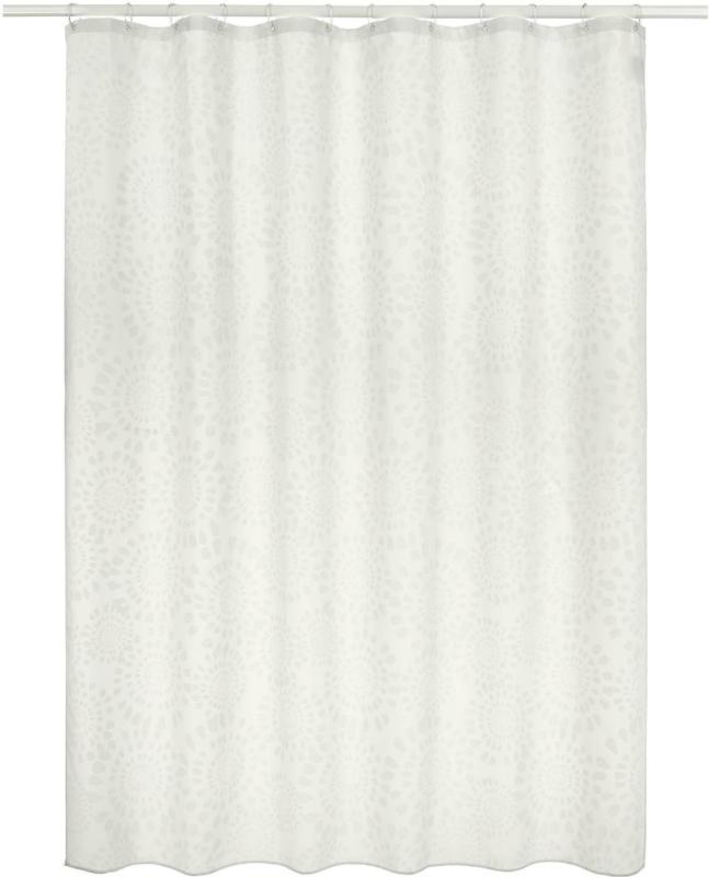 Duschvorhang Blanche in Weiß ca. 180x200cm