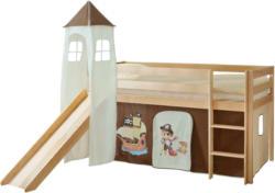Spielbett 'Kasper',aus Kiefer, kieferfarben/dunkelbraun