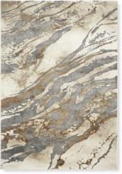Webteppich Marmor 1 in Grau/Beige ca. 80x150cm