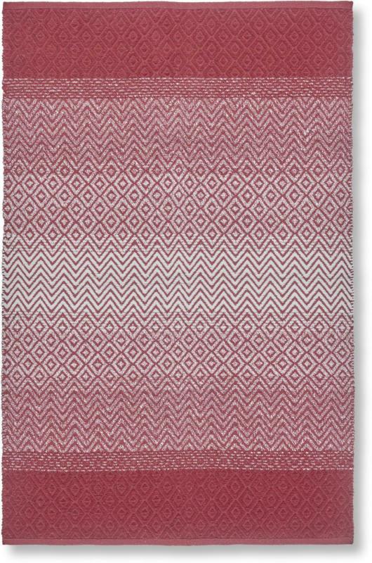 Fleckerlteppich Malta in Rot ca. 100x150cm