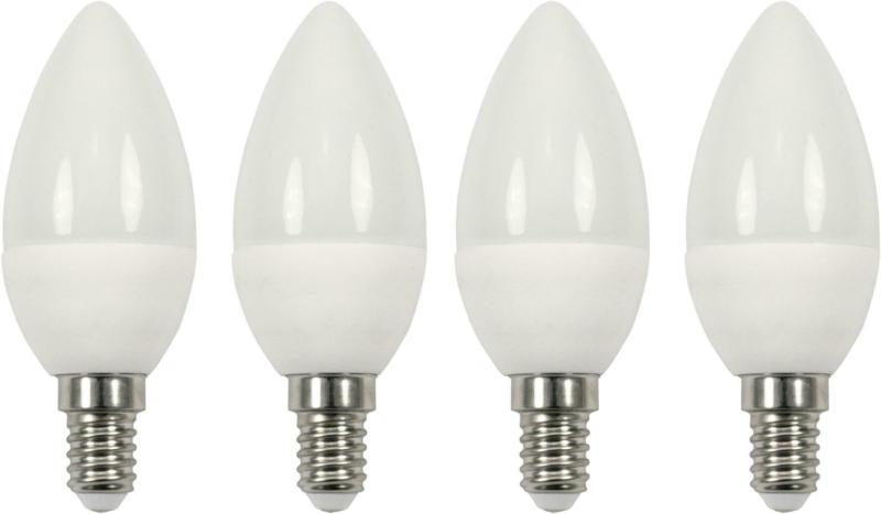 LED-Leuchtmittel Multi max. 5,5 Watt, 4 Stück
