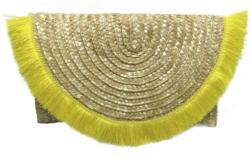 Handtasche Tassels aus Stroh