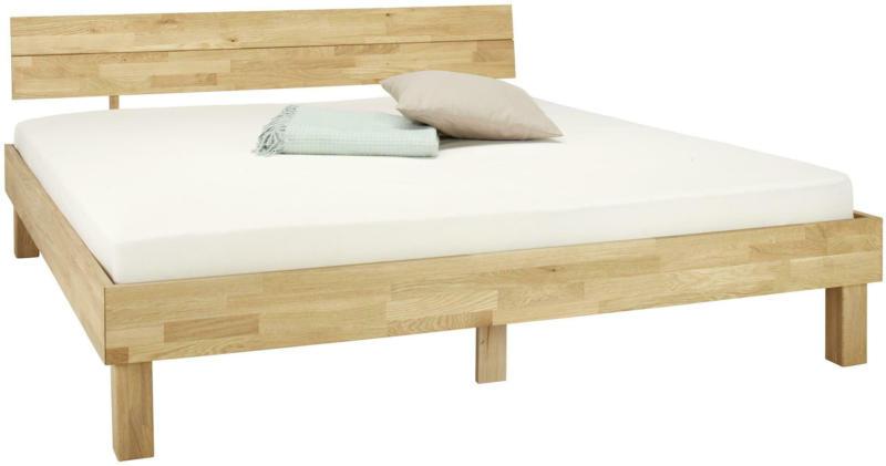 Bett aus Eiche massiv ca. 180x200cm