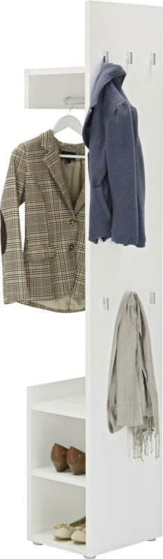Garderobe Weiss