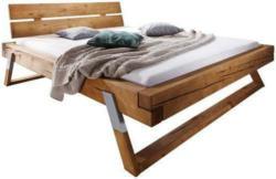Bett aus Fichte Massiv ca.180x200cm
