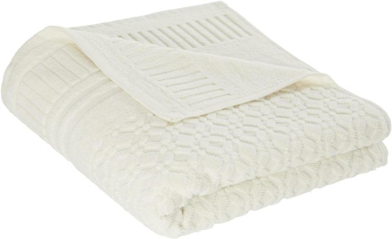 Handtuch Carina in Weiß ca. 50x100cm