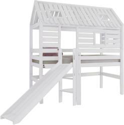 Spielbett 'Eliyas' , aus Buche, weiß
