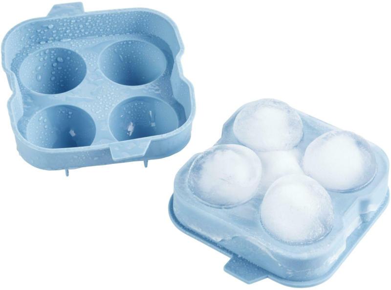 Eiswürfelform Chris in Blau