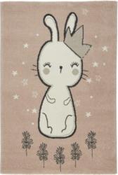 Kinderteppich Bunny in Rosa ca. 100x150cm