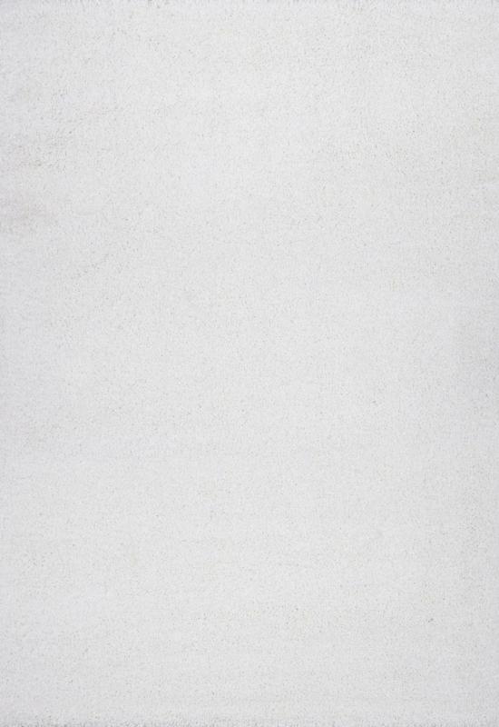 Hochflorteppich Galaxy in Weiß ca. 140x200cm