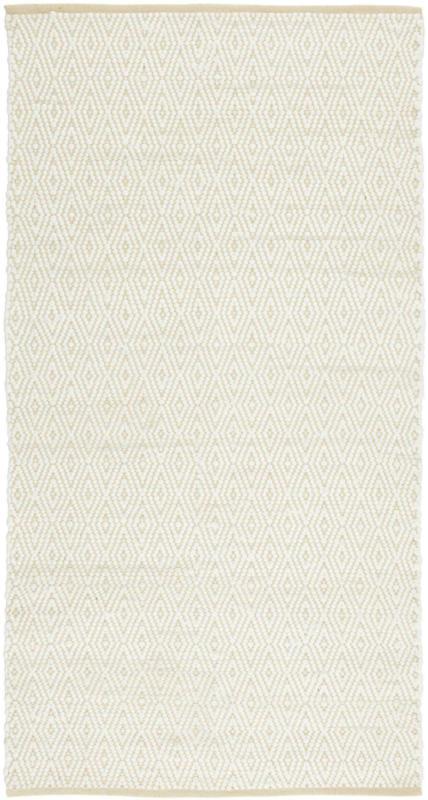 Handwebteppich Carmen in Beige ca. 80x150