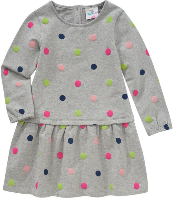 Baby Sweatkleid mit Punkte-Allover (Nur online)