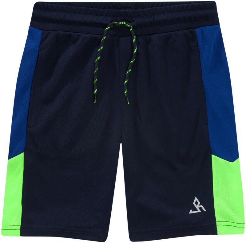 Jungen Sport-Shorts mit seitlichem Einsatz (Nur online)