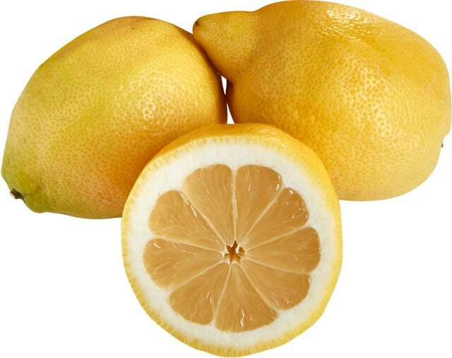 Bio-Zitronen lose