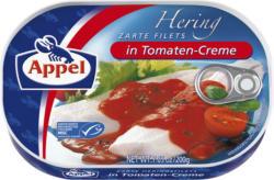 Appel Hering zarte Filets in Creme