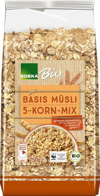 EDEKA Bio Basis Müsli 5-Korn-Mix