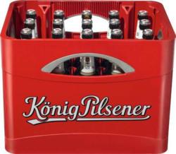 König Pilsener - 2 Kisten