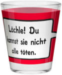 Möbelix Schnapsglas 60 ml Lächle ! Du Kannst Sie Nicht .