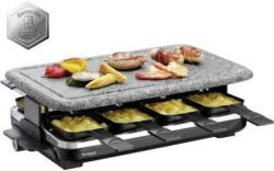 Raclette Hot Stone Mit Kunststein + 8 Grillpfännchen