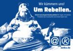 Wir kümmern uns! Um Rebellen.