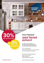 ... 30% Auf Alle Küchen Und 0% Finanzierung Für 40 Monate!*